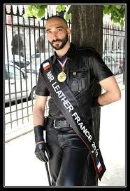 #MrLeather France 2012, Vincent. #LeatherFR 🇫🇷