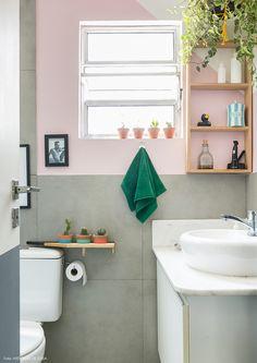 Banheiro com parede