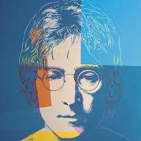[Andy Warhol] Andy Warhol's artwork of John Lennon