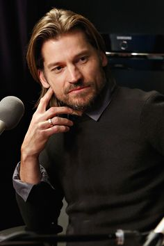 """Every photo ofNikolaj Coster-Waldau, better known by fans as Jaime Lannister on """"Game of Thrones,"""" should include a list of possible side effects. Co"""
