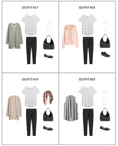 The Stay At Home Mom Capsule Wardrobe: Fall 2017 Collection - Classy Yet Trendy Minimalist Wardrobe, Minimalist Fashion, Capsule Wardrobe Mom, Capsule Outfits, Mom Wardrobe, Simple Wardrobe, Fashion Capsule, Wardrobe Ideas, Fall Wardrobe