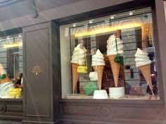 Mulberry shop window