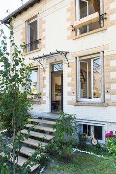 Une petite maison parisienne en banlieue parisienne - Plus de photos sur Côté Maison http://petitlien.fr/79ut