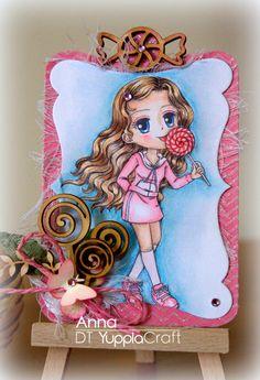 Una card dolcissima!   #yupplacraft #card #cardmaking @lollipop