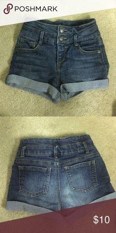 Girls jean shorts High waisted girls denim shorts Cherokee Bottoms Shorts