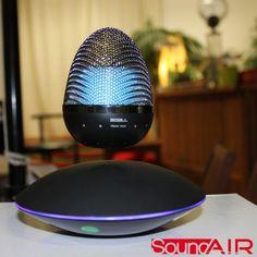Haut-Parleur Bluetooth en Lévitation Lumineux Soundair sur Cadeaux et Anniversaire