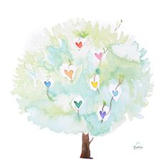 'Tree of Hearts' by Susan Lin
