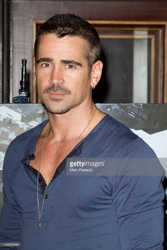 Actor Colin Farrell attends the 'Total Recall' Photocall at Hotel Costes on July 9, 2012 in Paris, France.