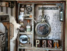 A Vintage Journey: Destination Inspiration ~ How To Create a Mini Configurations Book Tutorial