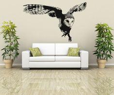 Vinyl Wall Decal Sticker Australian Owl Flying by Stickerbrand, $49.95