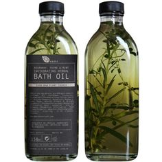 Rsemary, Thyme & Mint Invigorating Herbal Bath Oil (£18.00) ❤ liked on Polyvore featuring fillers, beauty, food, makeup, accessories, backgrounds, embellishments and details