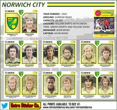 "Retro Sticker Co. on Twitter: ""NEW: Fascinating season @NorwichCityFC 1980/81. Hooked researching this today, currently writing a blog! @CanariesFC #ncfc @FootballInT80s https://t.co/dCVrLVdH8D"""