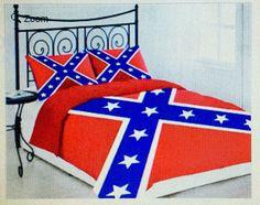 Confederate / Rebel Flag 3 Piece Comforter Set - Full/Queen