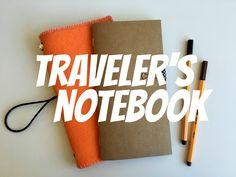 #PapelEmTudo - Como fazer um tralever's notebook