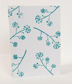 Ivy blank card illustration by maria nilsson