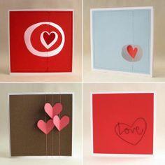 Simple valentine cards