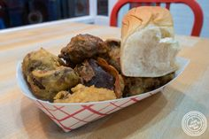 Fried chicken livers at IWF - International Wings Factory on the Upper East Side