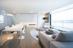 Minimal Contemporary Apartment Located in Belgium