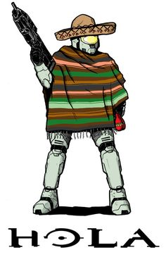 Turns out Mexico has space Marines, too.
