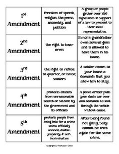 Worksheet Bill Of Rights Matching Worksheet economics vocabulary and ideas on pinterest bill of rights i have who has game