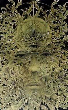 The Greenman, Cernunnos/Herne the Hunter...By Artist Unknown...