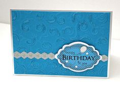 How to make beautiful birthday cards (in five minutes!)