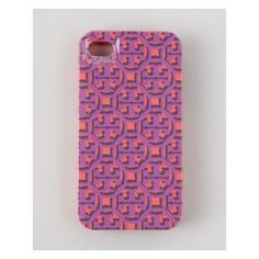 Tory Burch Logo Lattice Hard Shell iPhone 5 Case, Pink