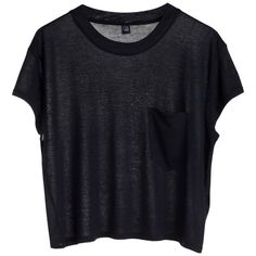 Holly tee ❤ liked on Polyvore featuring tops, t-shirts, shirts, tees, boxy shirt, boxy t shirt, relaxed fit tee, shirt tops and boxy tee