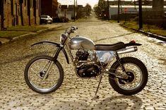 Custom Triumph Dirt Bike