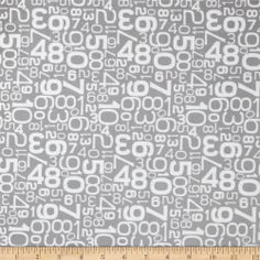 Online Shopping for Home Decor, Apparel, Quilting & Designer Fabric Bekvam Stool, Ikea Bekvam, Riley Blake, Fabric Design, Sewing Projects, Numbers, Quilts, Gray, Cotton