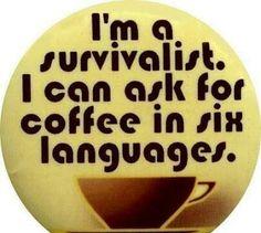 Nobody survives unless we get our JOE geeteredcoffeeFIEND