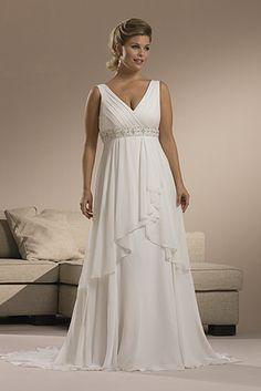 simple white dress | Plus Size Simple White Dresses For Women ...