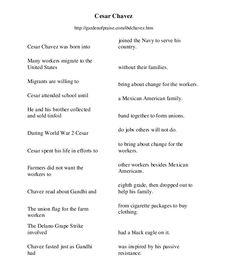 Cesar Chavez Timeline | Cesar chavez, Timeline and Social studies