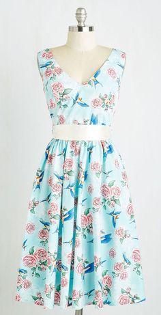 Freewheeling Whimsy Dress