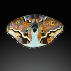 Theodora Elston   Photo: Steve Rossman   in Jeanie Pratt's Bug Brooch Collection