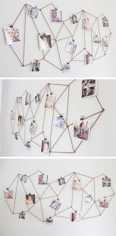 35+ Creative DIY Ways to Display Your Family Photos 10