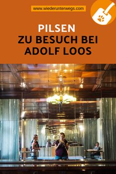 PILSEN - eine coole Stadt mit einer genialen Brauerei und Einblicke in WOhnungen von ADOLF LOOS gestaltet. Reisen In Europa, Movie Posters, Inspiration, Eastern Europe, Brewery, Apartments, Lisbon, Biblical Inspiration, Film Poster