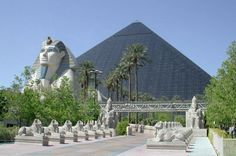 The 30 storey Luxor Las Vegas hotel features a 120,000 sq ft casino floor that includes over 2,000 slot machines and 87 table games, 20,000 sq ft of conference space, a wedding chapel, four swimming pools and whirlpools, Nurture Spa and Salon and 29 retail stores. It connects itself to the Mandalay Bay Resort & Casino through a 310-foot long retail sky bridge and other retailers such as Urban Outfitters, minus5° Ice Lounge & Lodge and a Nike Golf store.
