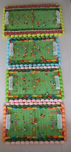 LOS DETALLES DE BEA: Por que el fútbol es una gran elección Tarta Real Madrid, Candy Birthday Cakes, Soccer Party, Ideas Para Fiestas, Birthday Crafts, Decoration, Baby Boy, Happy Birthday, Chocolate