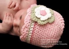 Hat Crochet Pattern - Shell Trim Baby Crochet Hat Pattern No.104 Newborn to 5 yrs on Etsy, $4.00