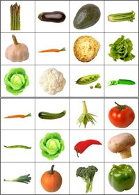 Lotto/bingo groenten Healthy Kids, Healthy Eating, Healthy Recipes, Vegetable Crafts, Kids Food Crafts, Image Fruit, Food Pyramid, Nutrition, Group Meals