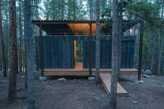 Colorado Outward Bound Micro Cabins,© Jesse Kuroiwa