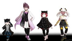danganronpa v3 ultimate astronaut ultimate tennis player ultimate magician angie ultimate arts and crafts doer(?)