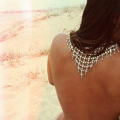 """""""- The Desert Wanderer Mesh Necklace xx -"""" http://www.regaliastore.com.au/collections/pendants/products/desert-wanderer-mesh-necklace"""