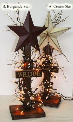 make one with my blue star for the 4th! - elegant decorelegant decor