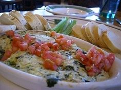Looking for Olive Gardens artichoke and spinach dip recipe? I used to work there and have seen the recipe. This is the real thing!