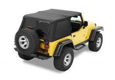Jeep Accessory - Bestop Jeep Wrangler Trektop NX Soft Top - TJ / LJ / JK