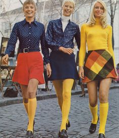 Those were the days.......Fashion for Women. 1972