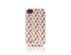 Case-mate Pink Birds Printed Tad Carpenter Tough case iPhone 4 & 4S