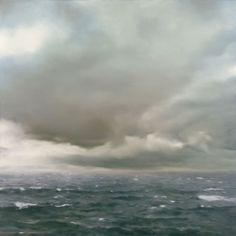 centre pompidou--gerhard richter Seestück (bewölkt) / Seascape (Cloudy)